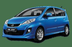 Car Rental Kl | Perodua Alza | Karloop 300