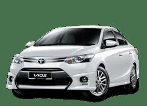 Kereta Sewa Di Kuala Lumpur | Toyota Vios | Karloop 300